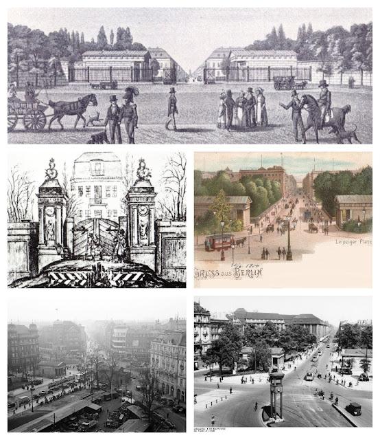 antigos portões da cidade de Berlim
