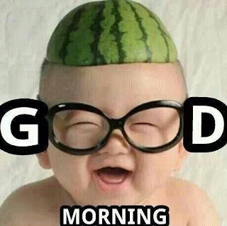 Funny Good Morning Image for Friends