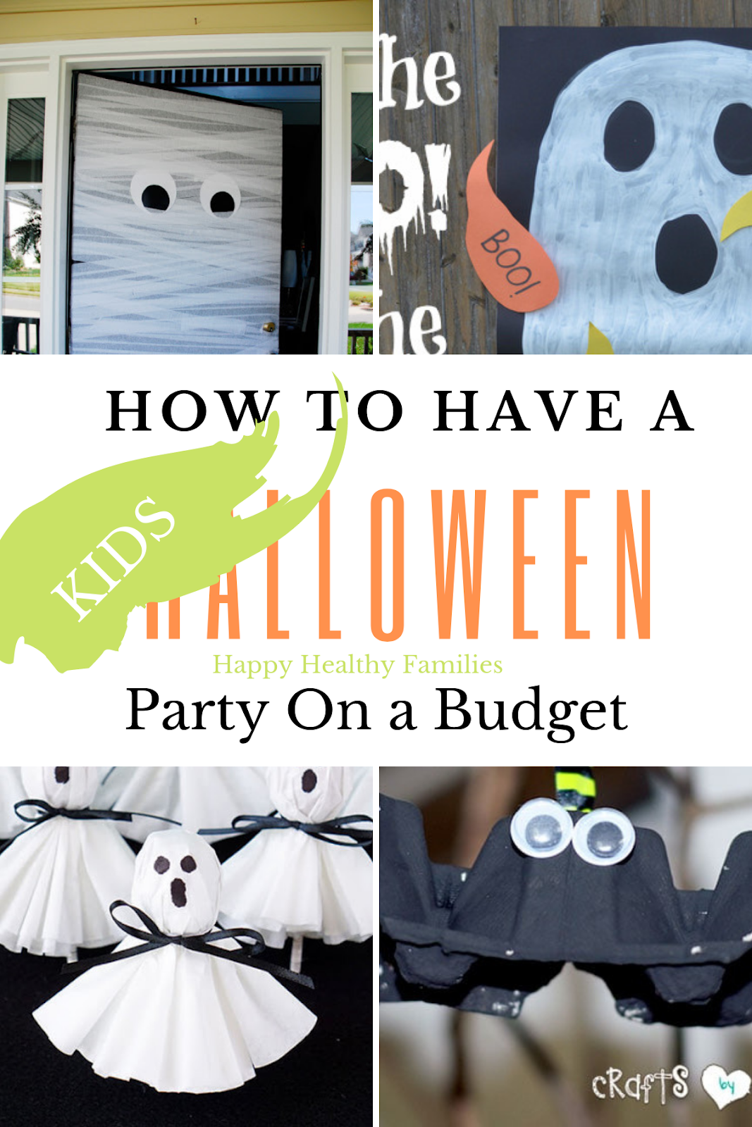 How To Make A Halloween Party Fun.Happy Healthy Families Diy Cheap Halloween Party Ideas For Kids When Your Budget Is Scary Tight