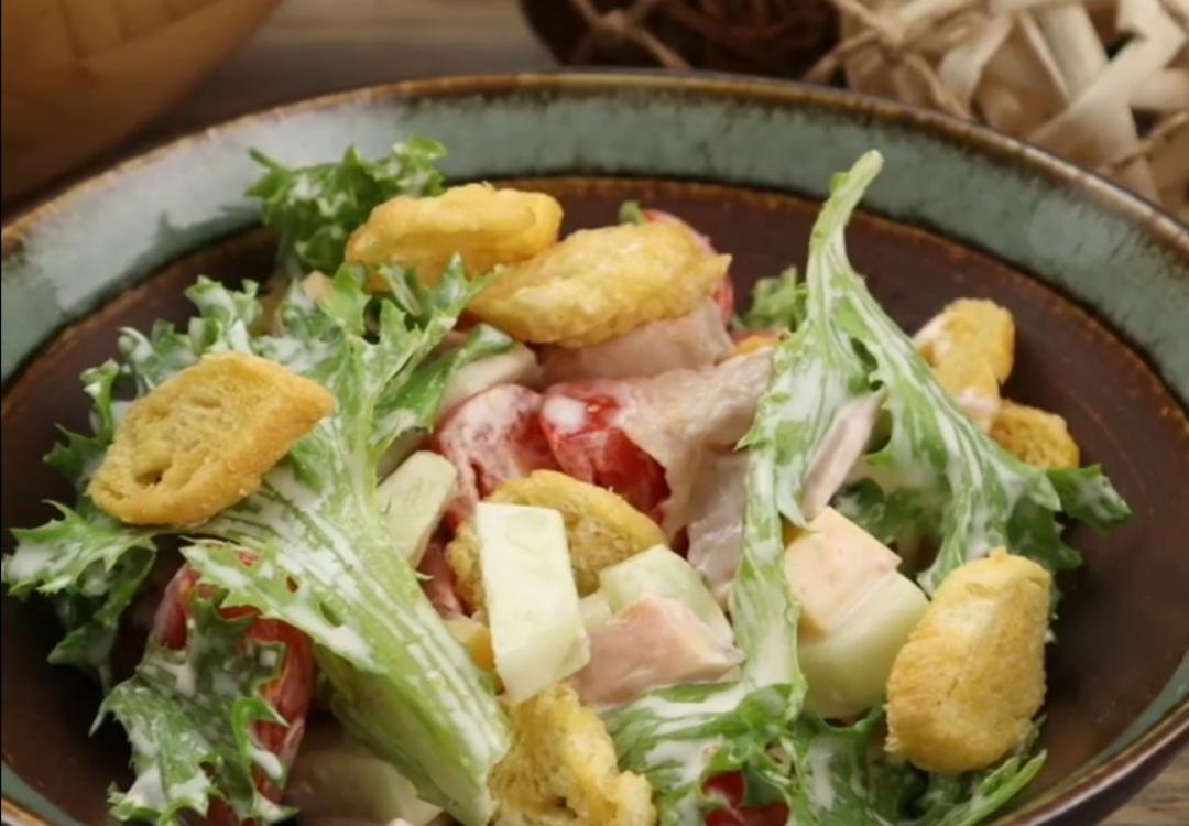 салат малибу с копченой курицей фото фоткать фотоны