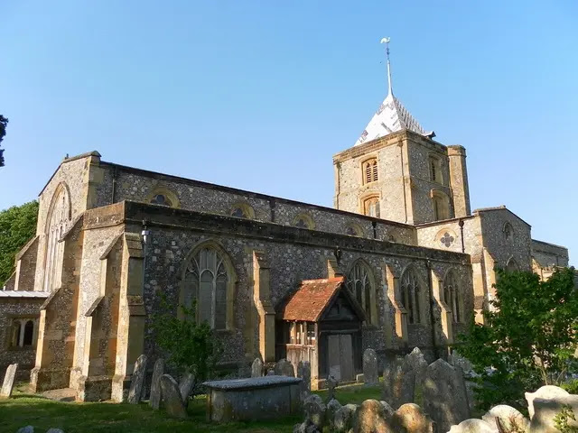 The Parish Church of St Nicholas West Sussex, England