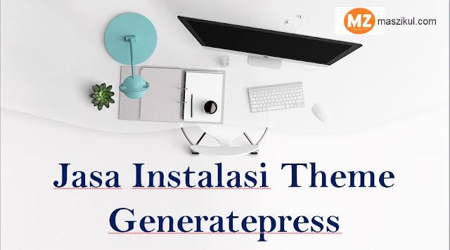 Jasa Instalasi Theme Generatepress