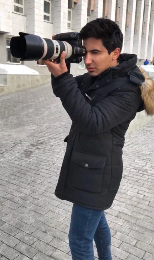 المصور محمد الشمري : حققت  كل شيء في روسيا بدون قيود مجتمع يعيق او يرفض التصوير الفوتوغرافي بأفكاره وجماليته