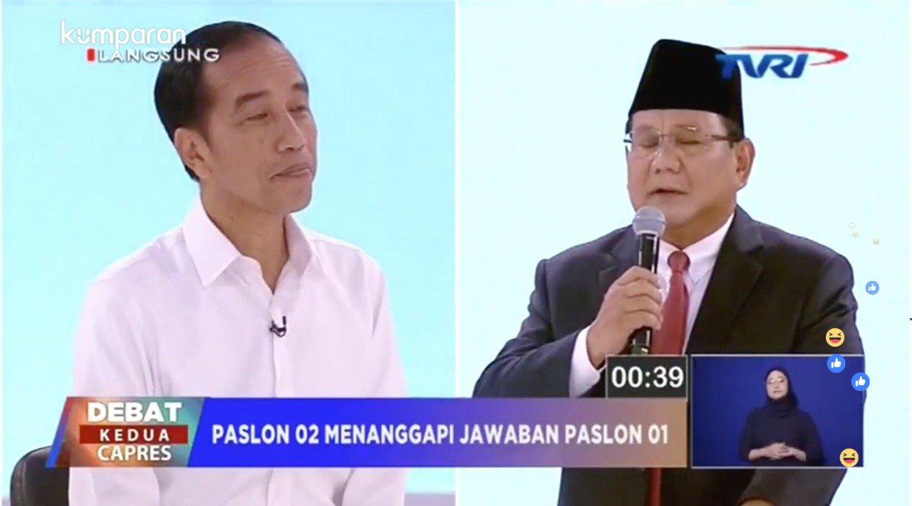 """TKN Jokowi Curang, Pertanyaan """"Unicorn"""" Melenceng dari Tema Debat"""