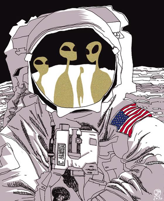 astronaut trippy drawing ideas - photo #22