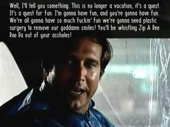 Clark Griswold Family Vacation quote