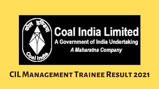 CIL Management Trainee Result 2021 Out