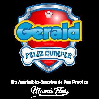 Logo de Paw Patrol: Gerald