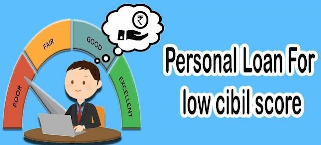 get personal loan approved business low CIBIL score
