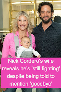 Amanda Kloots reveals she has 'been told to mention goodbye' to husband Nick Cordero