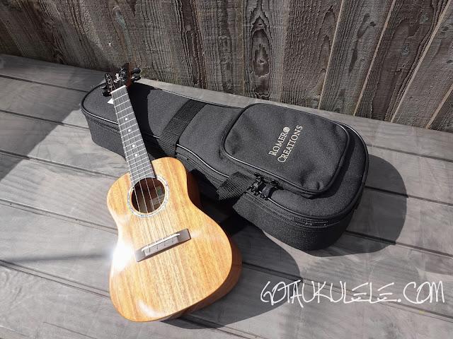 Romero Creations S-M Signature Soprano Ukulele gig bag