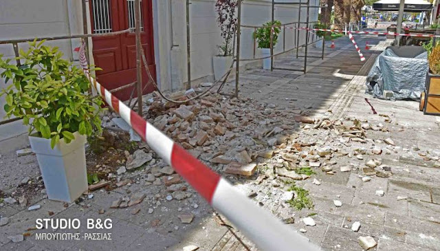 Επιστολών συνέχεια για την αποκατάσταση του Αγίου Νικολάου Ναυπλίου