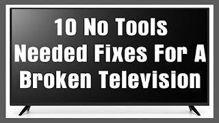 cara memperbaiki televisyen
