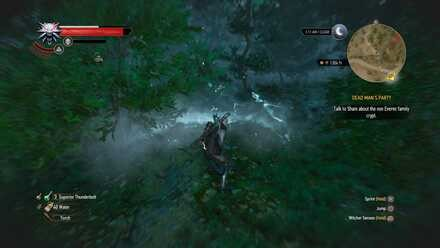 The Witcher - señal aard