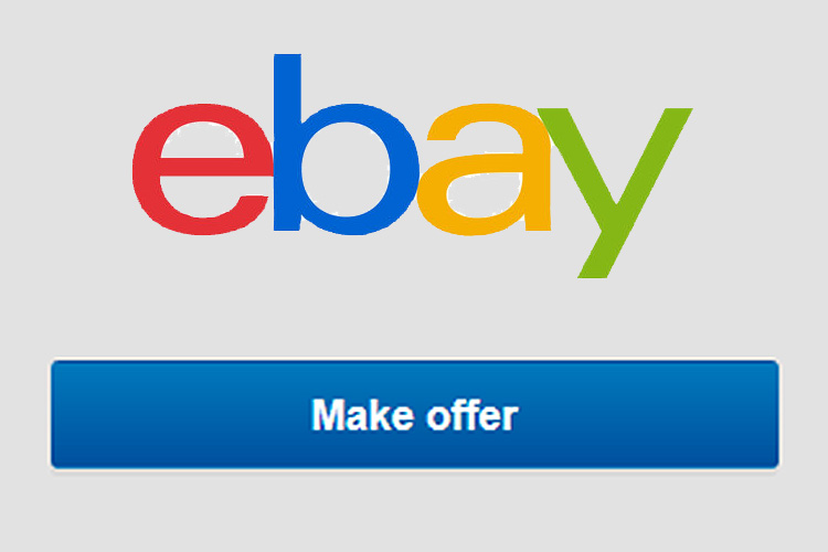 Using best offer option on ebay