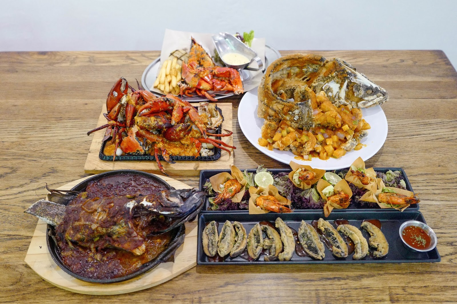 Rasa Gourmet with Steaks & Lobsters: Fresh-from-the-farm seafood in Desa Sri Hartamas