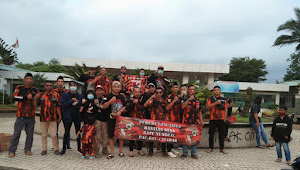Pemuda Pancasila ranting Batununggal Cibadak santuni puluhan anak yatim piatu
