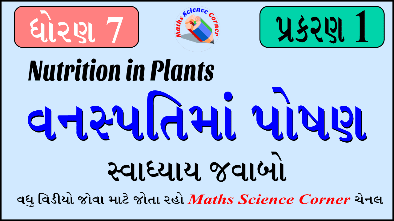 Science Std 7 Ch 1 Exercise Solution