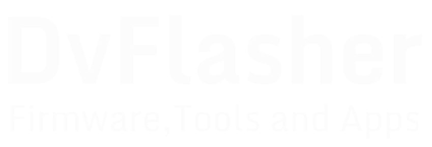 Firmware Tools dan Apps | DvFlasher