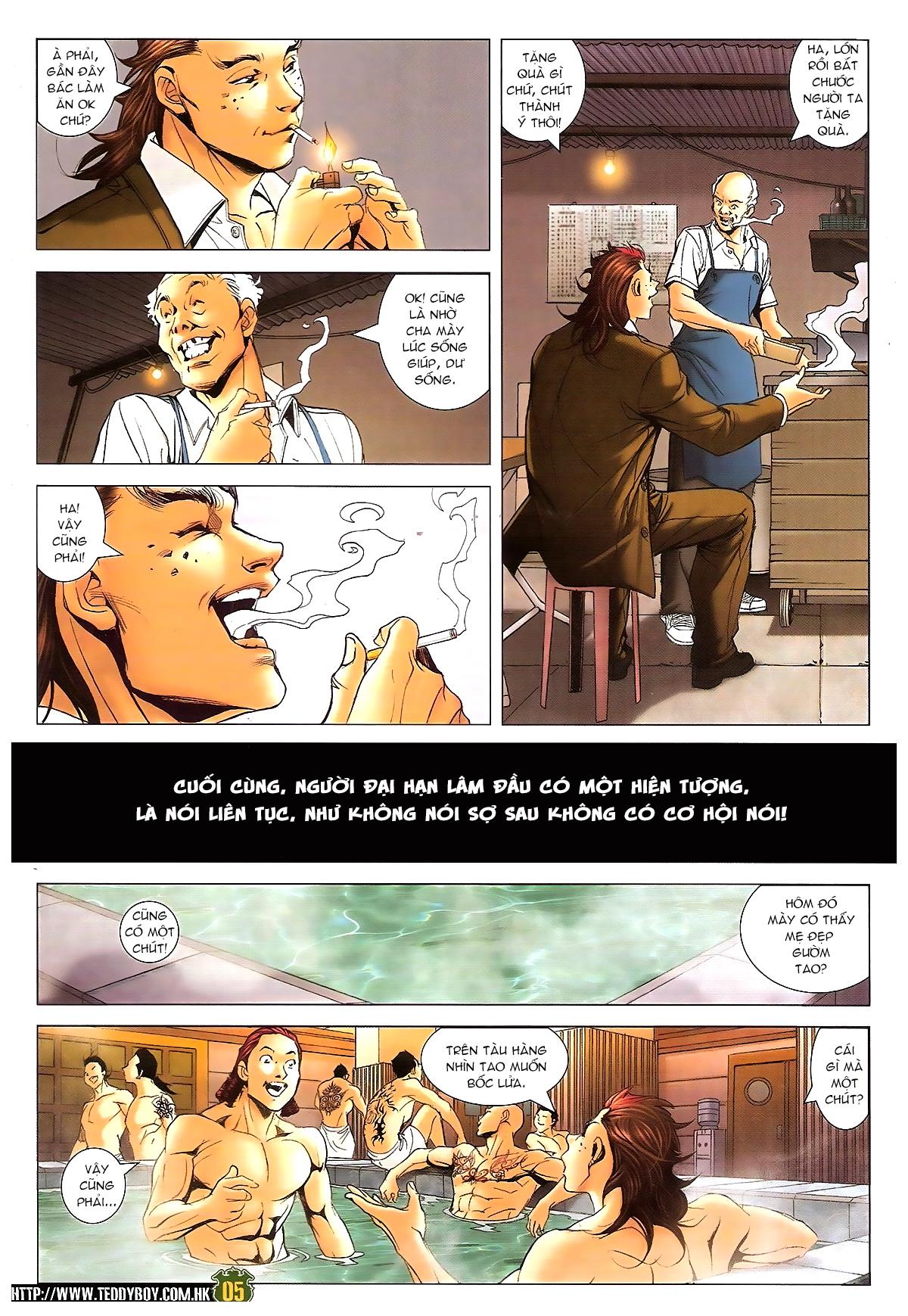 Người Trong Giang Hồ chapter 1646: đại hạn lâm đầu trang 4