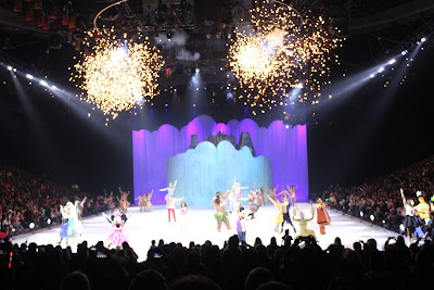 Amazing Disclosure: I Was Provided With Four Tickets To Disney On Ice Dare To Dream  And A Swag Bag For Promotional Purposes. No Other Compensation Was Received  And ... Great Pictures