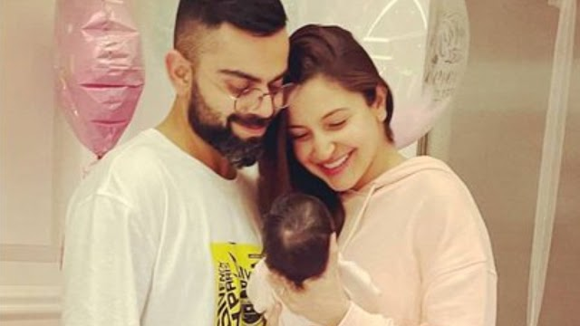 Anushka Sharma And Virat Kohli Share First Pic, Reveal Baby's Name - Vamika