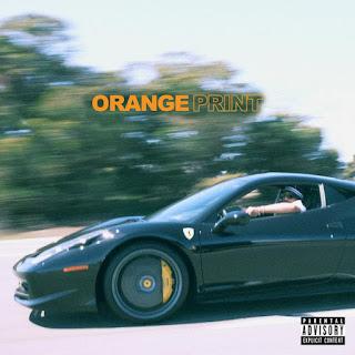 Larry June - Orange Print