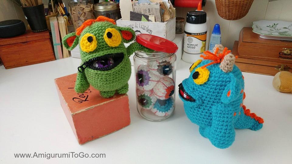 The Mini Mini Monster Crochet pattern by Monster's Toy Box ... | 540x960