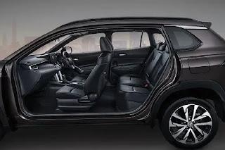 Kabin Interior Toyota Corolla Cross