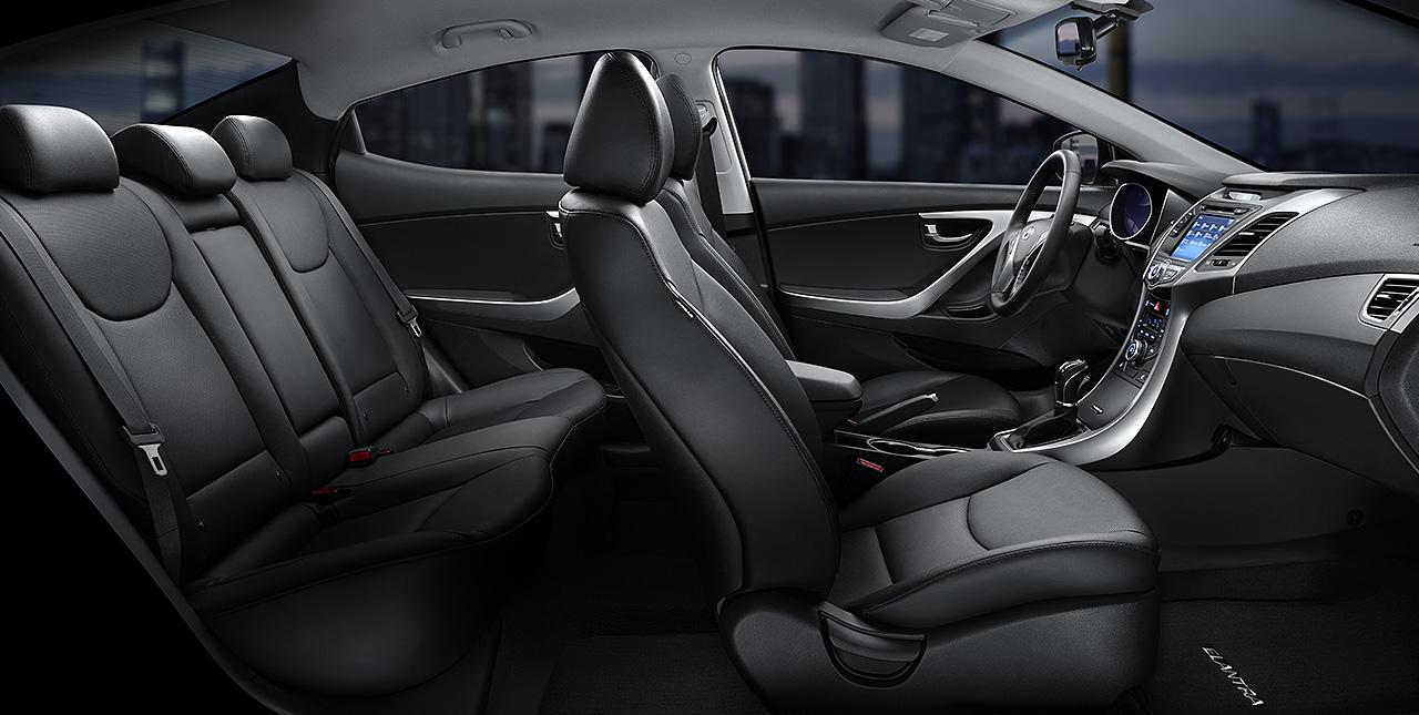2016 Hyundai Elantra Interior