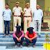 शराब ठेके पर लूट के मामले में पाटन पुलिस ने पांच हजार ईनामी बदमाश सहित दो आरोपियों को गिरफ्तार किया