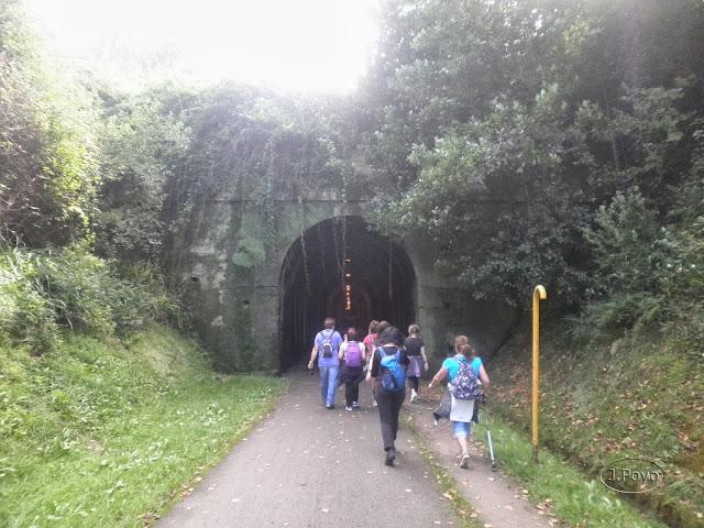 Via Verde La camocha y senda fluvial del Piles, Gijón