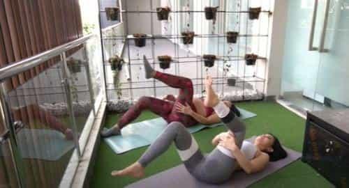 Video Senam Hamil Bersama Maria Vania