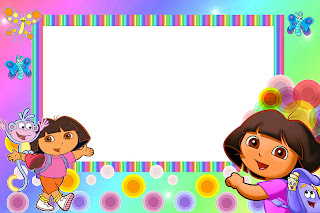 Dora the explorer invitations and free party printables oh my cone filmwisefo Images