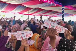Rayakan HUT RI ke 74, BUMN Gelar Pasar Murah di Gorontalo
