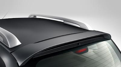 Nissan Terrano AMT rear spoiler