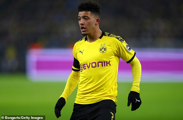 Manchester United 'are close to agreement with Dortmund on £100m Jadon Sancho'
