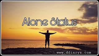 Alone Status and Alone Quotes