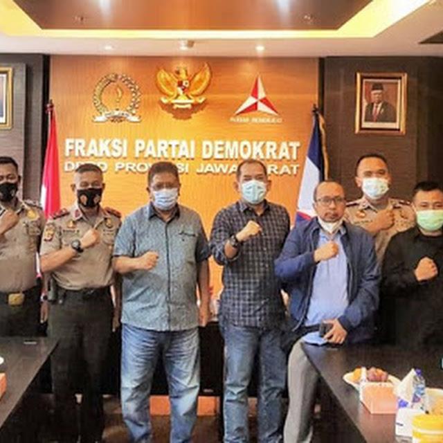 THR Cair, Pegawai Non-ASN Sekretariat DPRD Jabar Sampaikan Ucapan Terima Kasih Kepada Fraksi Partai Demokrat