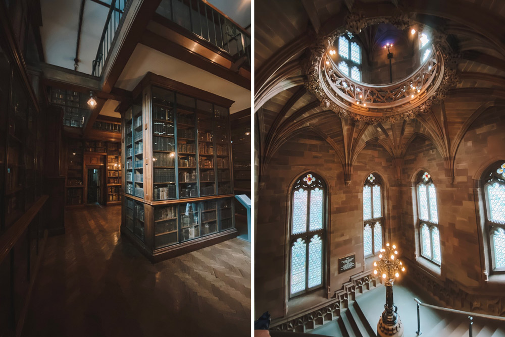 John Ryland's Library in Manchester, United Kingdom is filled with charm and history