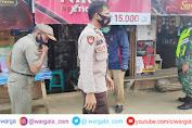 Personel Polsek Alla Melaksanakan Ops Yustisi dengan Sasaran Pertokoan