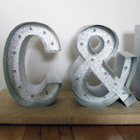 Wedding Marquee Letters