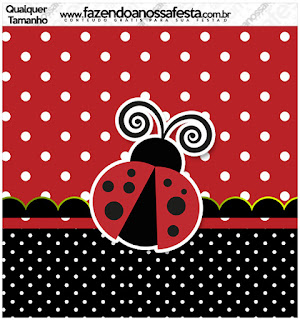 Ladybug Party Free Printable Labels.