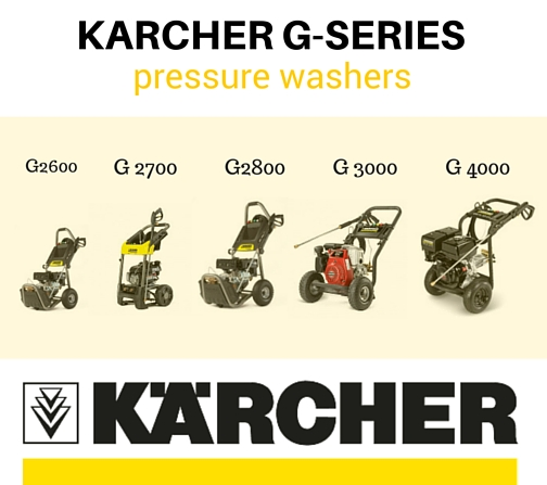 Karcher G-series Power Washers Pictures