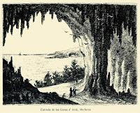 Gravat de l'entrada de les Coves d'Artà (TOBELLA 1882)