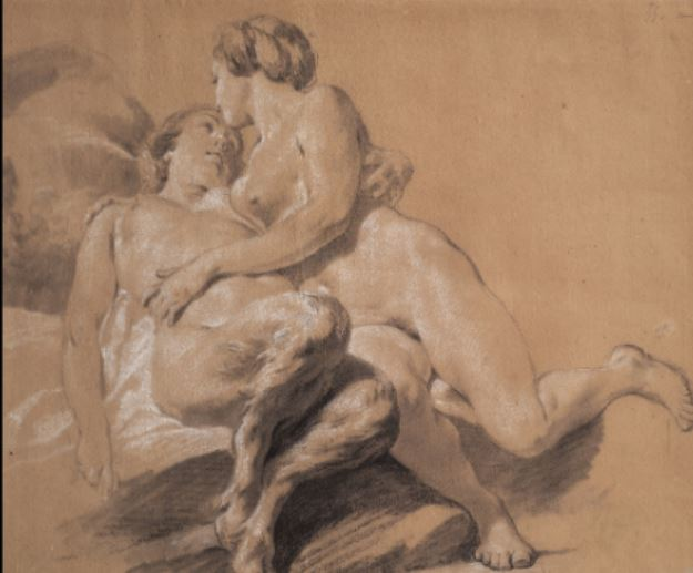 Jean-Baptiste Marie Pierre, Nymphe et Faunesse, Genève Collection Bonna © Patrick Goetelen, Genève