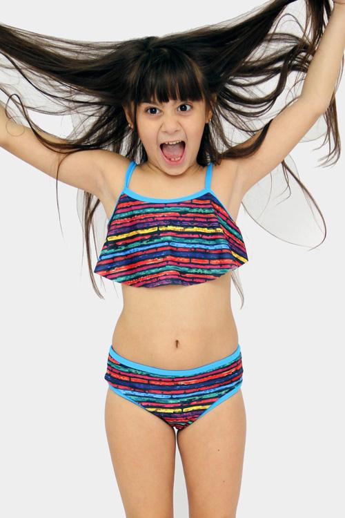 Bikinis primavera verano 2018 para niñas.