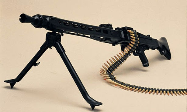 Thompson M192 Machine Gun: