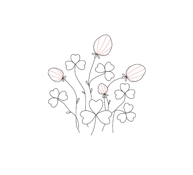 clover free embroidery pattern