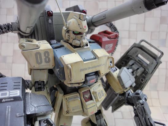 Yyyyout: MG 1/100 Gundam Ez8 Custom Build